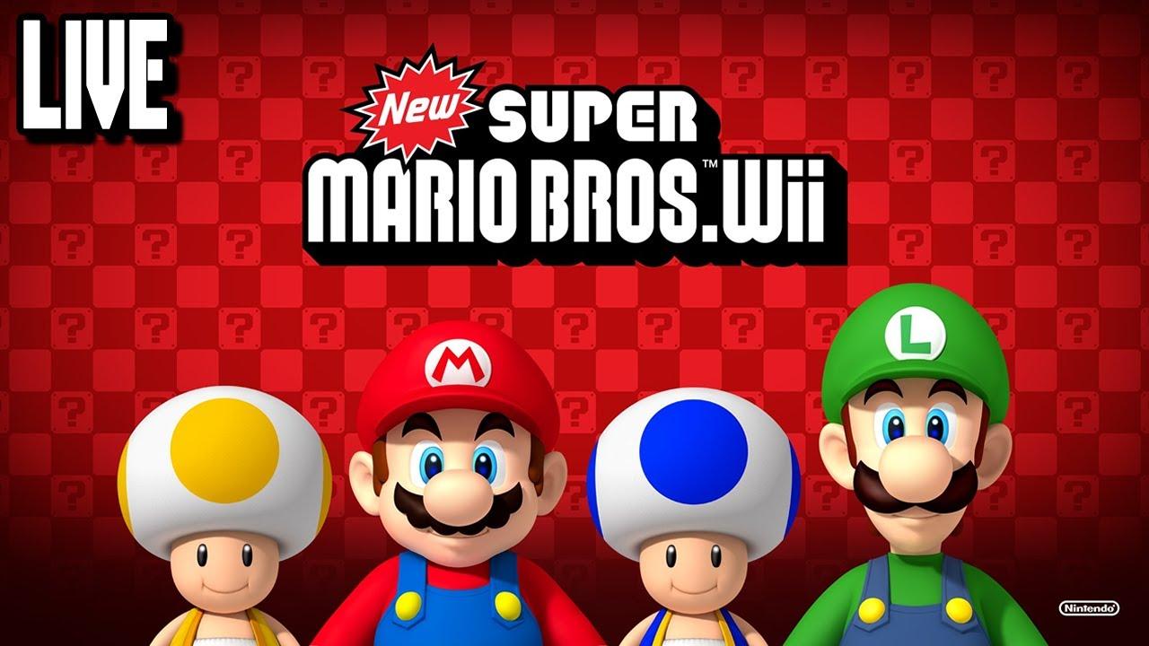 Juegos Mario Bros Wii New Super Mario Bros Wii 100