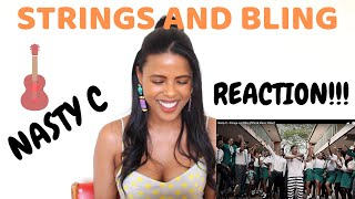 REACTION!!!! Nasty C - Strings and Bling