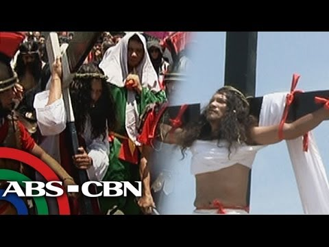 Good Friday crucifixion rites in Pampanga