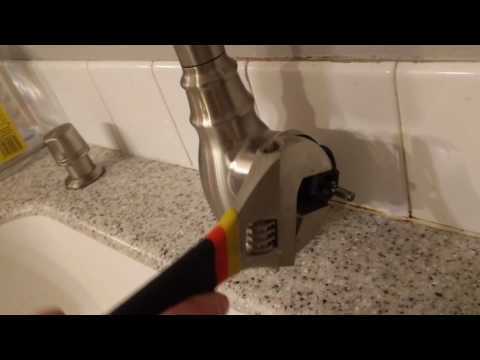 How to fix leaking Moen faucet handle