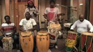 Folkloric Haitian Drum Ensemble