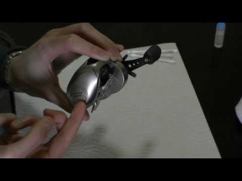 (HD) How to clean and oil a baitcasting reel
