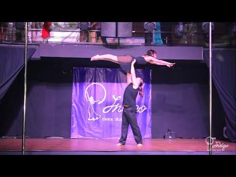 Ольга Кутявина, Саид Ражабов, Acrobatic Dance! Indigo Dance Studio Отчетный концерт 2015!!!