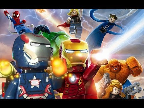 Unboxing Lego Marvel Superheroes Video Game and Lego Iron Patriot Review!