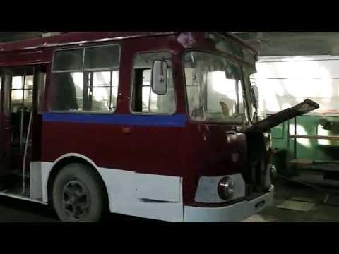 ЛИАЗ-677 с капитального ремонта
