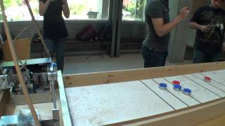 Shuffleboard Robot Competition (Team #8 Match 2, Game 1)