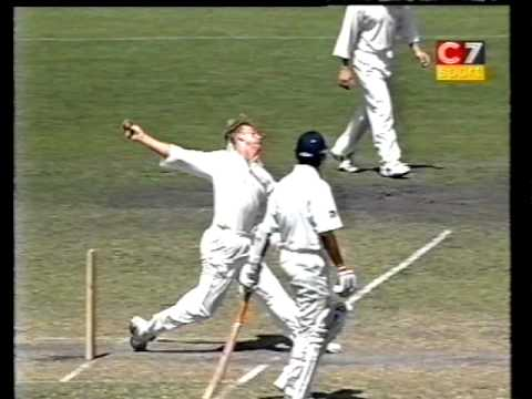 *RARE* Sachin Tendulkar 1st ever dismissal to Brett Lee- tour match 1999