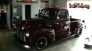 ULTIMATE AUDIO: Fully RESTORED 1949 GMC 100 Truck w/ 20x13