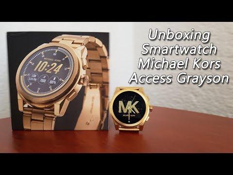 Unboxing Michael Kors Access Grayson [SmartWatch]