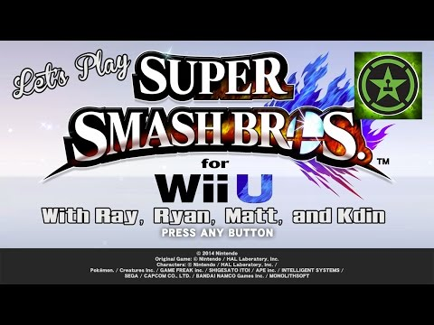 Let's Play - Super Smash Bros For Wii U