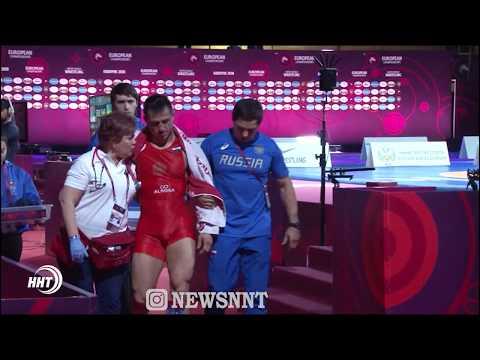 Трое россиян пробились в финал чемпионата Европы по греко-римской борьбе