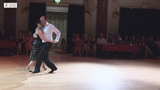 2017 Jolanta and Adrian dance canyengue to Los Vino at Cheltenham International Tango Festival