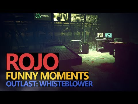 Funny Moments #19: Outlast: Whistleblower - Rojo & Urhara