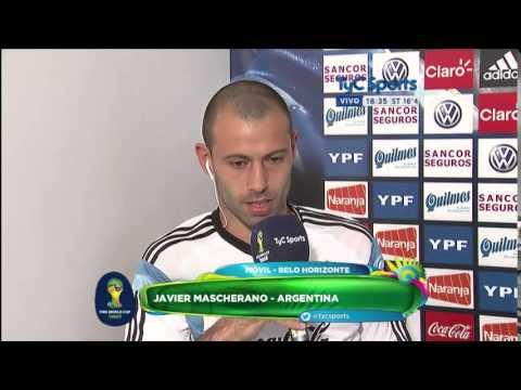 Brasil 2014: Entrevista a Javier Mascherano (TyC Sports)