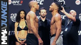 UFC Atlantic City ceremonial weigh-in highlights