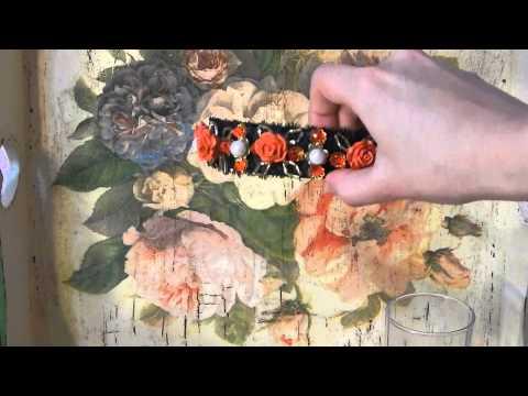 Ободки своими руками с цветами из фоамирана