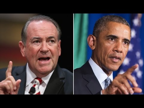 Obama on Huckabee: 'It'd be considered ridiculo...