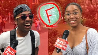 Strangers Try to Pass A 4th Grade Quiz