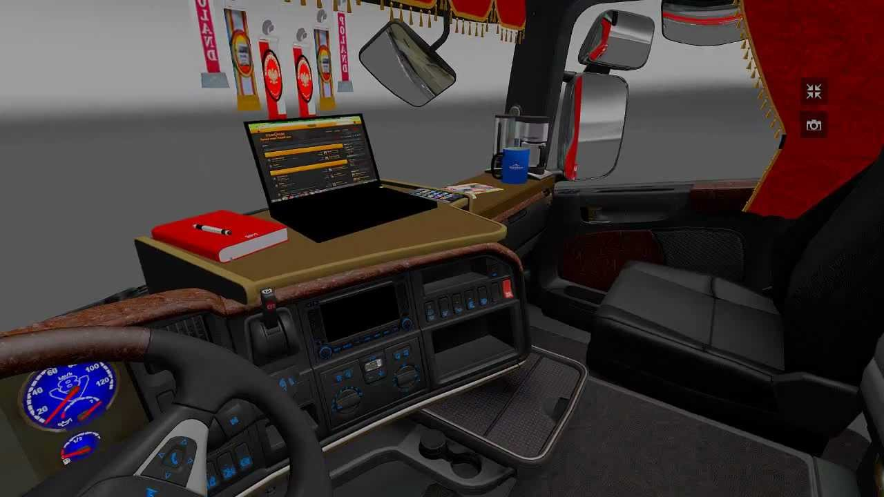 New Scania Interior Ets 2 Mod Youtube