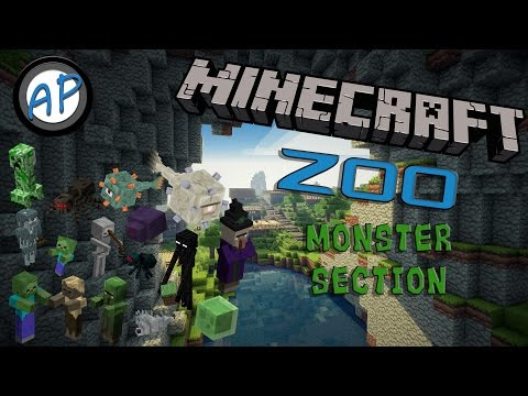 Arctic's Minecraft Zoo: Monster Section