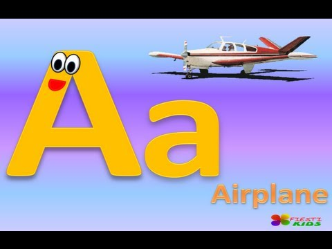 Alphabet for Children with Song, El Abecedario en Inglés para Niños (Canción Infantil)