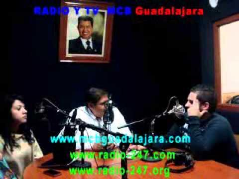 RADIO Y TV MCB Guadalajara  ENTREVISTA 06 DE SEP 2014 LUIS QUEZADA