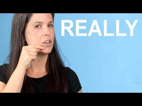 How to Pronounce REALLY — American English Pronunciation