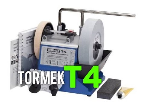 Best Easy Angle Knife Sharpener? Tormek T4 Review and Demo