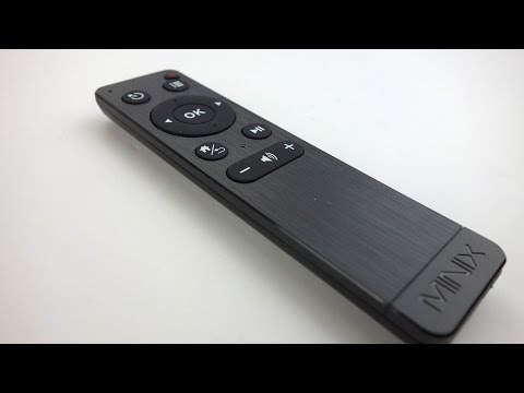 Minix Neo M1 Remote Detailed Walk-through