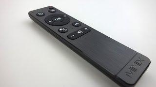 Minix Neo M1 Remote Detailed Walk-through