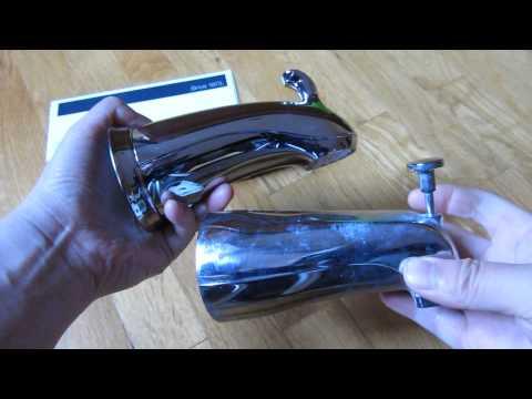 Kohler Forte Diverter Shower Bath Spout Review and Unboxing (10281. 10280)
