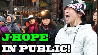 "J-HOPE - ""Airplane"" - DANCING KPOP IN PUBLIC!!!"
