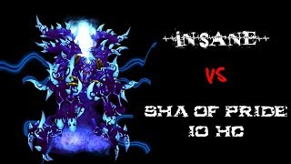 Insane vs Sha of Pride 10 Hc (Warlock pov) - Tauri wow