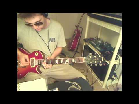 Owl City - Dear in the headlights - Guitar solo freestyle