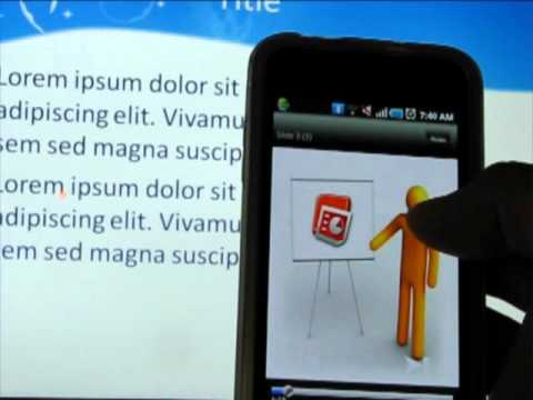 How to use your phone as a remote PowerPoint clicker (Review PPT Remote)