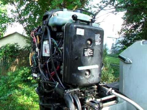 1985 Mercury 150 Black Max Xr2 Engine Problems Youtube
