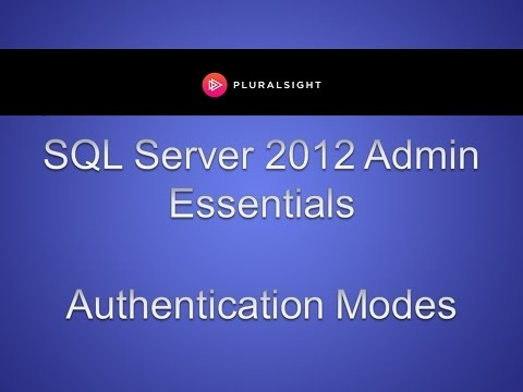How to Configure SQL Server Authentication Modes