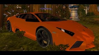 World of Warcraft Cataclysm Mods - Lamborghini Reventon