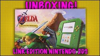 UNBOXING! Nintendo 2DS Link Edition - The Legend of Zelda Ocarina of Time