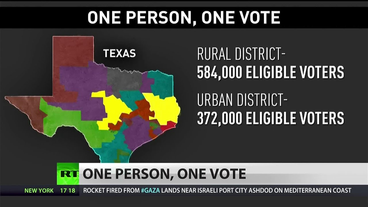 Supreme Court to hear arguments challenging 'One Person, One Vote' principle