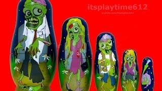 Halloween Nesting Dolls 1 Toys Review   itsplaytime612