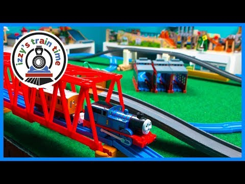 Thomas and Friends TOMY Trackmaster Giant Set! Fun Toy Trains for Kids