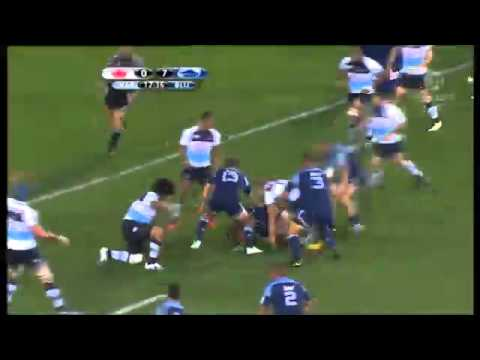 Blues vs Waratahs Rd.9 - Super Rugby Video Highlights 2011