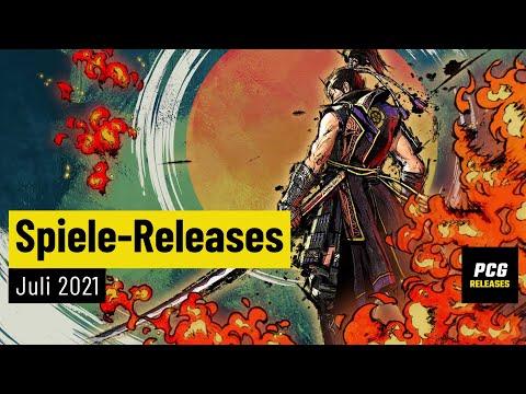 Spiele-Releases im Juli 2021 | Für PC und Konsolen