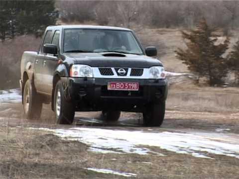 Nissan NP300, тест-драйв
