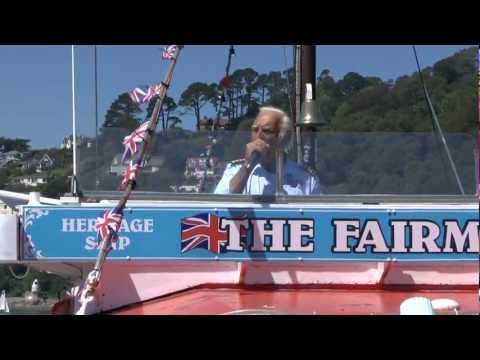 The Fairmile sailing from Dartmouth UK to Slapton Sands, Torcross and Blackpool Sands.