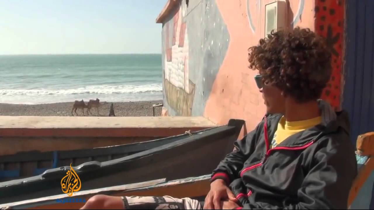 Fishing village turns to surf for living
