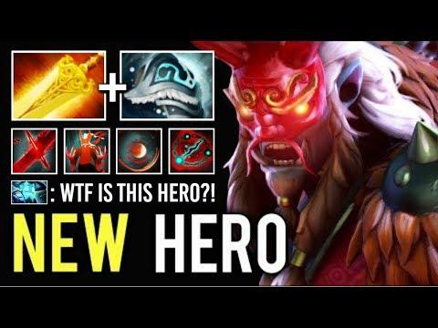 NEW IMBA HERO GRIMSTROKE Mid vs Storm Spirit Epic Skills Gameplay by Just Top Rank WTF Dota 2