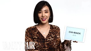 Tiffany Young Teaches You Korean Slang | Vanity Fair