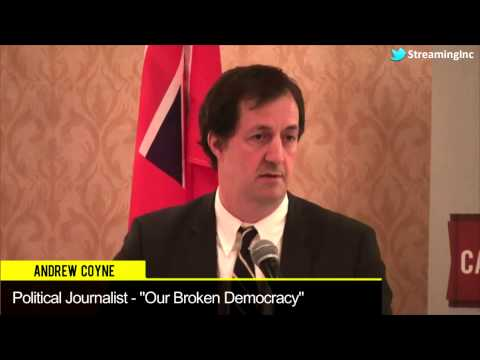 Andrew Coyne, Political Journalist -